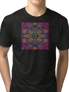 Psychedelic Indian Trance Tri-blend T-Shirt