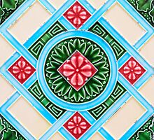 Peranakan Floral Tiles by ernstc