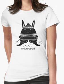 Ski Bunny Womens Fitted T-Shirt