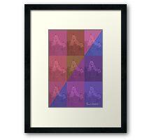 CRA A Grid 3 Framed Print