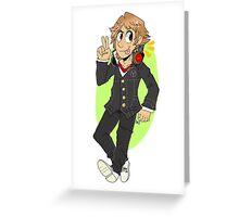 Yosuke Hanamura Greeting Card