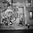 In the Street of Manhattan by KerryPurnell