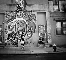 In the Street of Manhattan Photographic Print