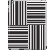 Stripes Elixir: Black and White Hollywood Inspired iPad Case/Skin