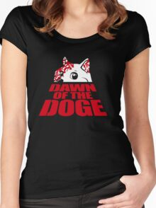 Dawn of the Doge Women's Fitted Scoop T-Shirt