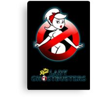 The REAL Lady Ghostbusters - Rule #63 Poster Canvas Print