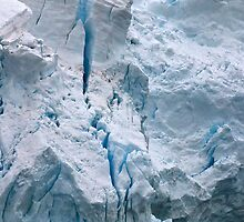 Antarctic Ice by Marylou Badeaux