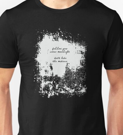 Allen Ginsberg - Madness Quote Unisex T-Shirt