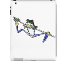 Tropical Frog on a Stick iPad Case/Skin