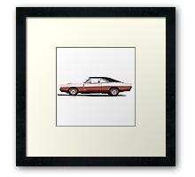 Dodge Charger R/T 426 Hemi (brown) Framed Print