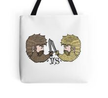 attack on beards Tote Bag