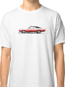 Dodge Charger R/T 426 Hemi (red) Classic T-Shirt