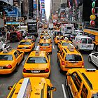 NYC cabs by KerryPurnell