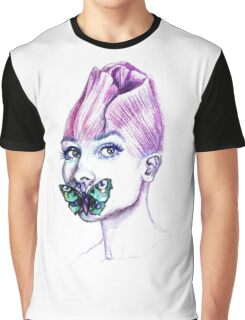 Audrey Hepburn, The Rose Graphic T-Shirt