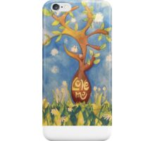 Love me, Love my tree iPhone Case/Skin