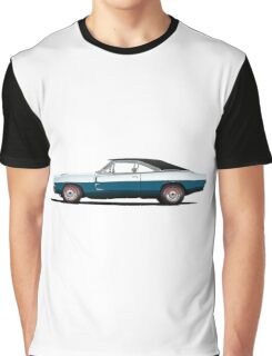Dodge Charger R/T 426 Hemi (blue) Graphic T-Shirt