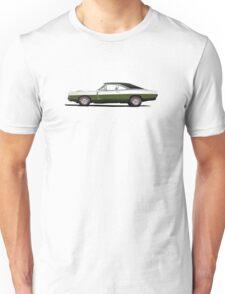 Dodge Charger R/T 426 Hemi (dark green) Unisex T-Shirt