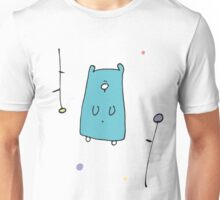 Floral Teddy Unisex T-Shirt