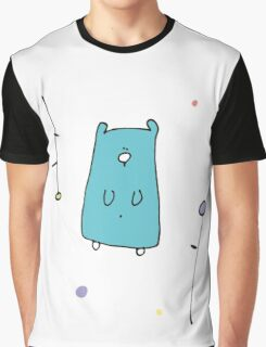 Floral Teddy Graphic T-Shirt