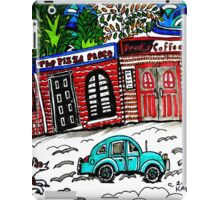 OUR TOWN iPad Case/Skin