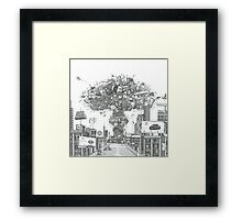 Pick Relaxation Framed Print
