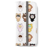 BTS plush dolls series iPhone Wallet/Case/Skin