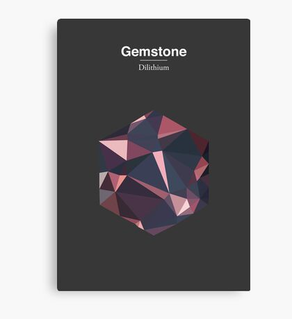Gemstone - Dilithium Canvas Print