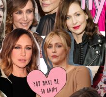 vera farmiga - collage Sticker