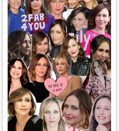 vera farmiga - collage Sticker