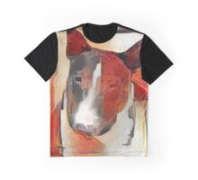Bull Terrier - full frontal Graphic T-Shirt