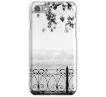 Cobweb morning iPhone Case/Skin