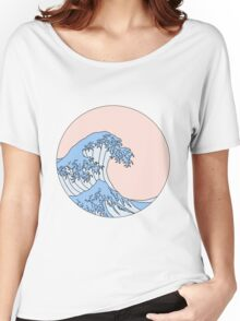 Aesthetic Wave Women's Relaxed Fit T-Shirt