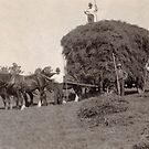 The Hay Gatherers, Western NSW (abt 1941) by Adrian Paul