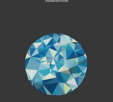 Gemstone - Adamantium by Marco Recuero