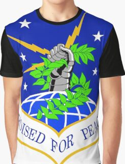 91st Missile Wing (91 MW) Crest Graphic T-Shirt
