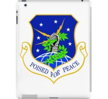 91st Missile Wing (91 MW) Crest iPad Case/Skin