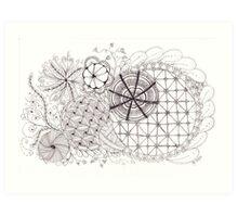 Tangled Art Art Print