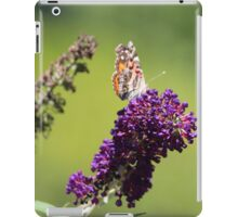 Butterfly With Flowers iPad Case/Skin