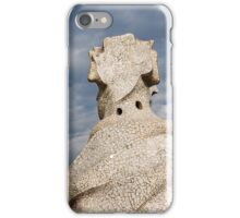 Whimsical Chimneys - Antoni Gaudi Casa Mila Rooftop iPhone Case/Skin