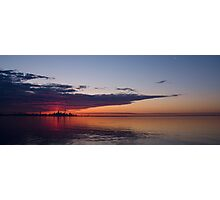 Panorama - Toronto Sunrise in June Photographic Print