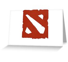 DOTA 2 ICON Greeting Card