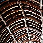 """"""" The Wagon  roof timbers  of St Winnows Church"""" by Malcolm Chant"""