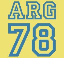 ARGENTINA 1978 Kids Clothes