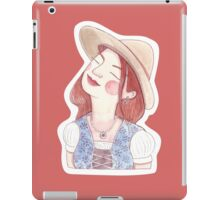 Landmädl iPad Case/Skin