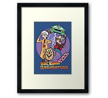 Back to the Adventure Framed Print
