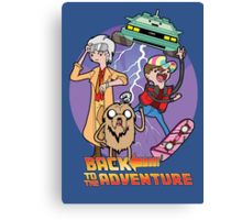 Back to the Adventure Canvas Print