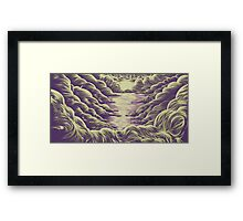 The Calm Sea Framed Print