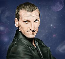 Ninth Doctor Who by SanFernandez