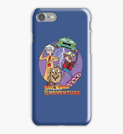 Back to the Adventure iPhone Case/Skin