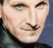 Ninth Doctor Who Sticker